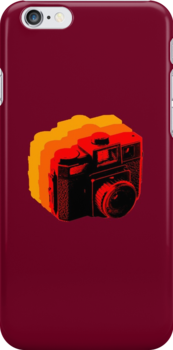 Holga Square T-Shirt by Damien Loverso