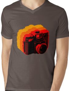 Holga Square T-Shirt Mens V-Neck T-Shirt