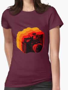 Holga Square T-Shirt Womens Fitted T-Shirt