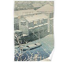 Kawase Hasui - Ochanomizu In Snow (Ochanomizu) Poster