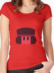 Cute Ruby Women's Fitted Scoop T-Shirt