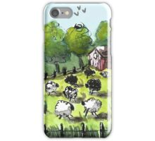 Having a Sheep Party iPhone Case/Skin