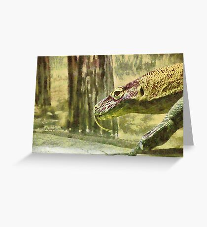 Moving slowly and deliberately Greeting Card