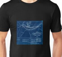 0241 Railroad Maps Cleveland and Toledo Rail-Road Inverted Unisex T-Shirt