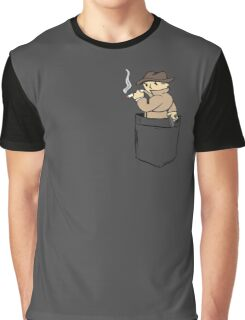 Mysterious Pocket. Graphic T-Shirt