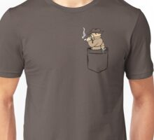 Mysterious Pocket. Unisex T-Shirt