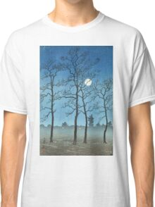 Kawase Hasui - Winter Moonlight Classic T-Shirt
