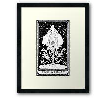 Sci Fi Tarot Card Framed Print
