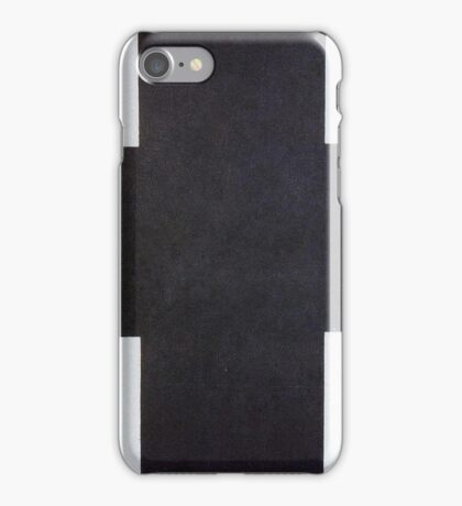 Kazemir Malevich - Black Cross 1923 iPhone Case/Skin