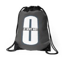 #Why Not Drawstring Bag