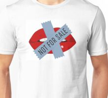 Not For Sale Lips Unisex T-Shirt