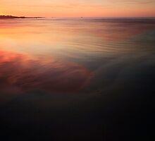 Sunset At Greenpoint, Tasmania by Angelika  Vogel