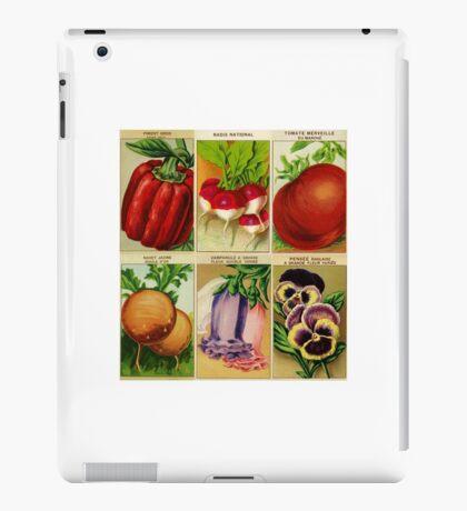 Vintage seed covers iPad Case/Skin