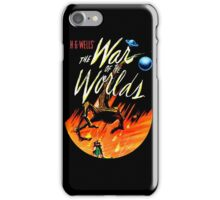 War of the Worlds T-shirt! iPhone Case/Skin