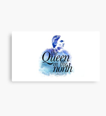 The Queen in the North Canvas Print