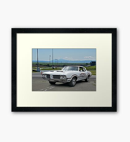 1970 Oldsmobile Cutlass 'Indy Pace Car' Framed Print