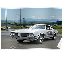 1970 Oldsmobile Cutlass 'Indy Pace Car' Poster