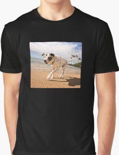 Strollin' down the beach, baby. Graphic T-Shirt