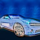 2013 Camaro Automotive Art by ChasSinklier