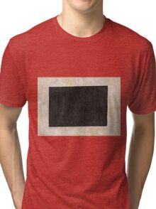 Kazimir Malevich - Black Quadrilateral  Tri-blend T-Shirt