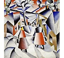 Kazimir Malevich - Morning In The Village After Snowstorm  Photographic Print