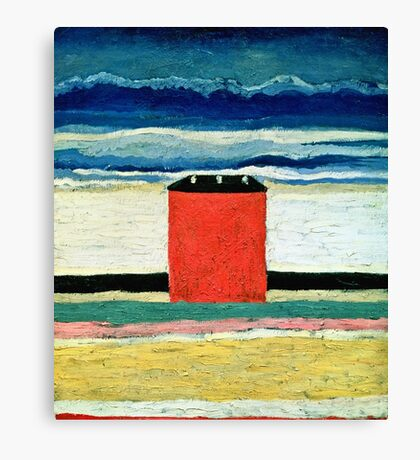 Kazimir Malevich - Red House  Canvas Print