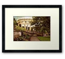 The Temple of the Sky Framed Print