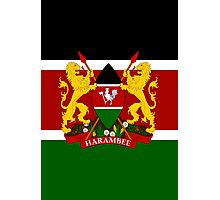 KENYA-COAT OF ARMS Photographic Print
