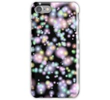 Firefly Abstract, Black and Glow iPhone Case/Skin