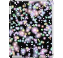 Firefly Abstract, Black and Glow iPad Case/Skin