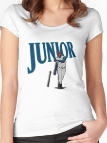 """Seattle - """"Junior"""" Women's Fitted Scoop T-Shirt"""
