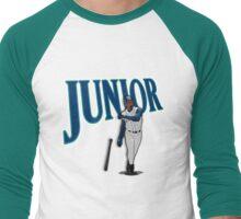 "Seattle - ""Junior"" Men's Baseball ¾ T-Shirt"