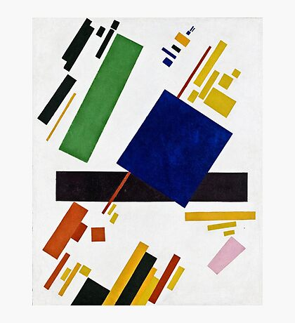 Kazimir Malevich - Suprematist Composition  Photographic Print