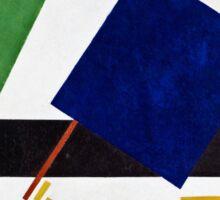 Kazimir Malevich - Suprematist Composition  Sticker