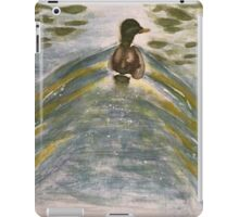 Duck on water-scroll down to view more of my work iPad Case/Skin