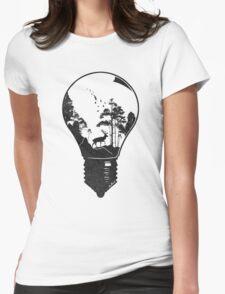 Terrarium Womens Fitted T-Shirt