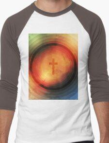 Thanks Be To God Men's Baseball ¾ T-Shirt