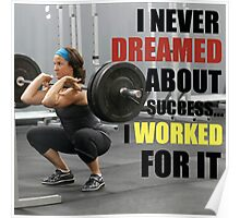 Work For Success Poster
