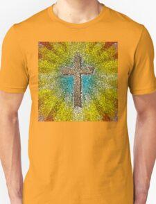 Cool Colorful Cross Unisex T-Shirt