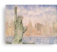 Statue of Liberty-scroll down to view more of my work Canvas Print
