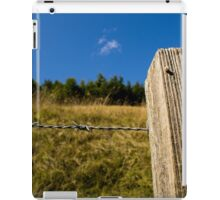 Post And Wire iPad Case/Skin