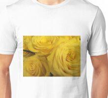 Snuggling Yellow Roses Unisex T-Shirt