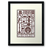 Build Your Own Doctor Who 1 Framed Print