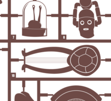 Build Your Own Doctor Who 1 Sticker