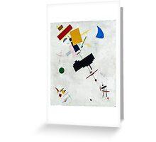 Kazimir Malevich - Suprematism  Greeting Card