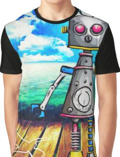 Killer Robot Graphic T-Shirt