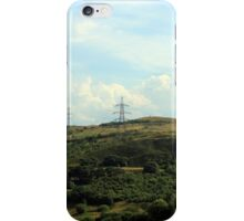 Lines Of Communication By Storm Black iPhone Case/Skin