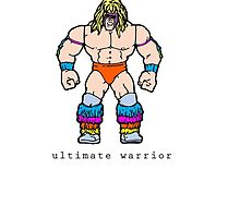 WWF Ultimate Warrior by vintageglory