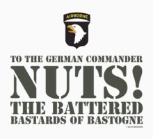 101st AIRBORNE- NUTS by PARAJUMPER