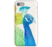 Elegant Peacock iPhone Case/Skin
